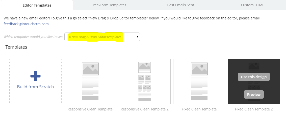 How To Create An Email With Our Latest Dragdrop Editor Email - Free email template editor